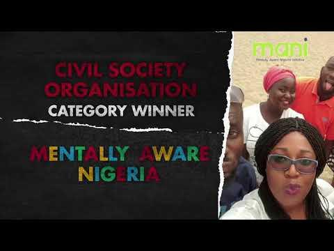 Innovation Awards CSO Winner: Mentally Aware Nigeria