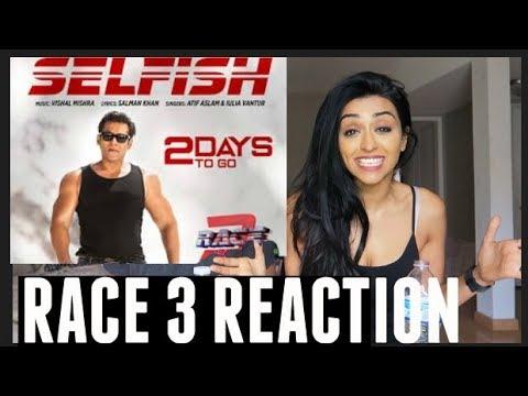 Selfish Song REACTION   Salman Khan, Bobby, Jacqueline   Atif Aslam, Iulia Vantur   Vishal