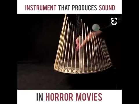 Instrumen Yang Menghasilkan Suara di Film Horor