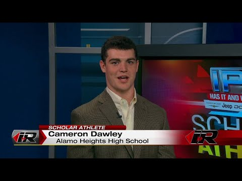 Scholar Athlete - Cameron Dawley - Alamo Heights High School
