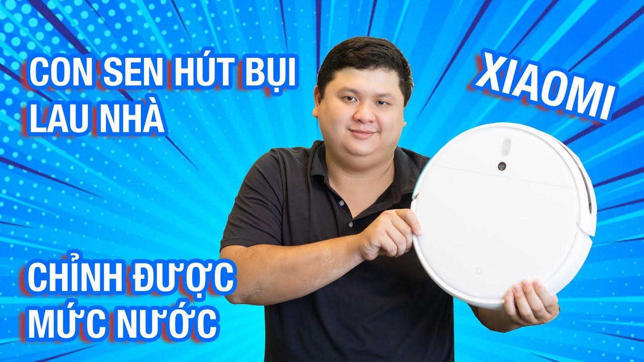 Duy Luân vừa tậu con sen mới - Xiaomi Mi Robot Vacuum-Mop