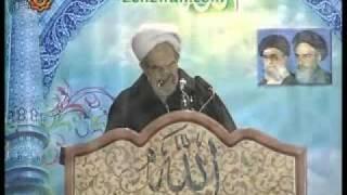 Support of Khamenei in Friday prayer of Hojatoleslam Hasani in the town of Urmia