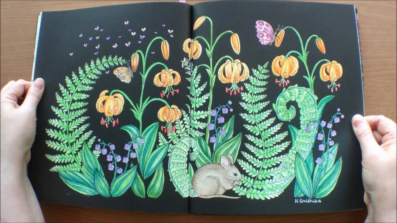 Blomster Mandala By Maria Trolle Swedish Colouring Book