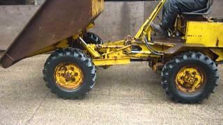 Thwaites 4 Wheel Drive Diesel Dumper