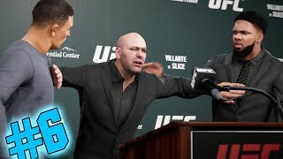HEATED RIVALRY! ALMOST A KO DURING PRESS CONFERENCE!! EA Sports UFC 3 Career Mode Gameplay EP 6