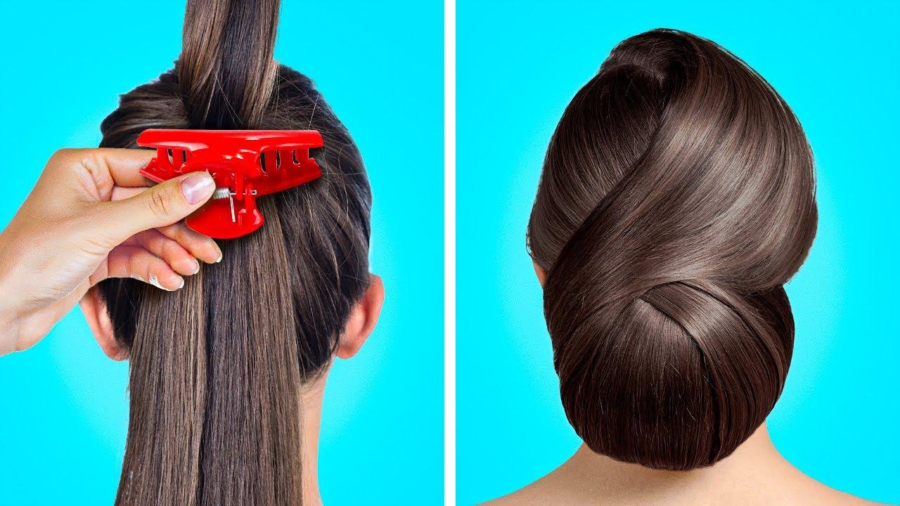 Ý tưởng làm tóc cho người mới cực đơn giản