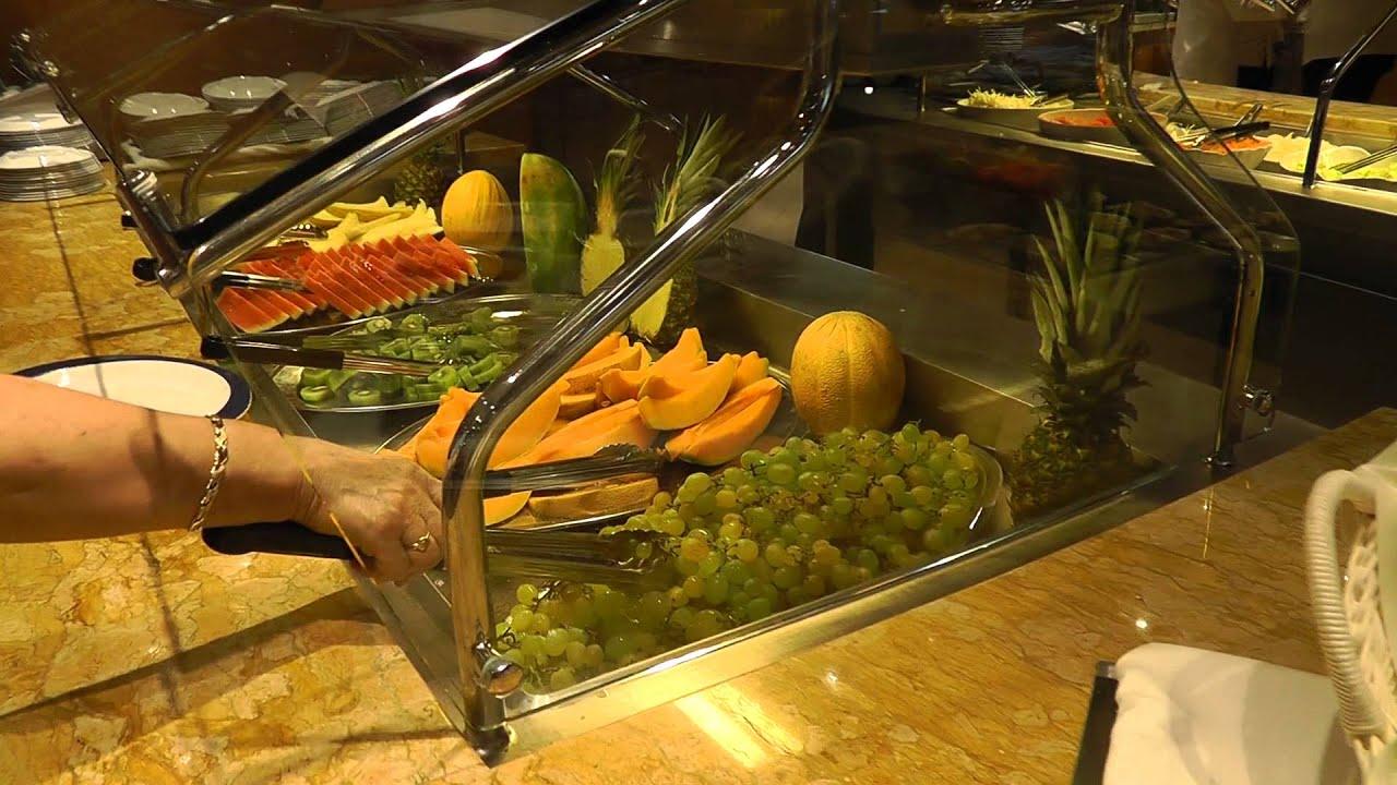 Msc Preziosa Lunch In Buffet Restaurant Hd1080p Youtube