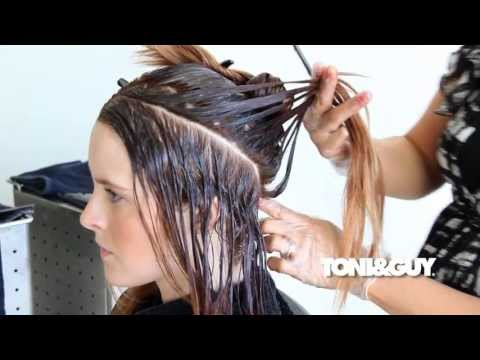 Ombre Balayage Technique   How To Color Hair FULL LENGTH