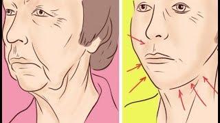 Вот как можно заставить мышцы удерживать овал лица