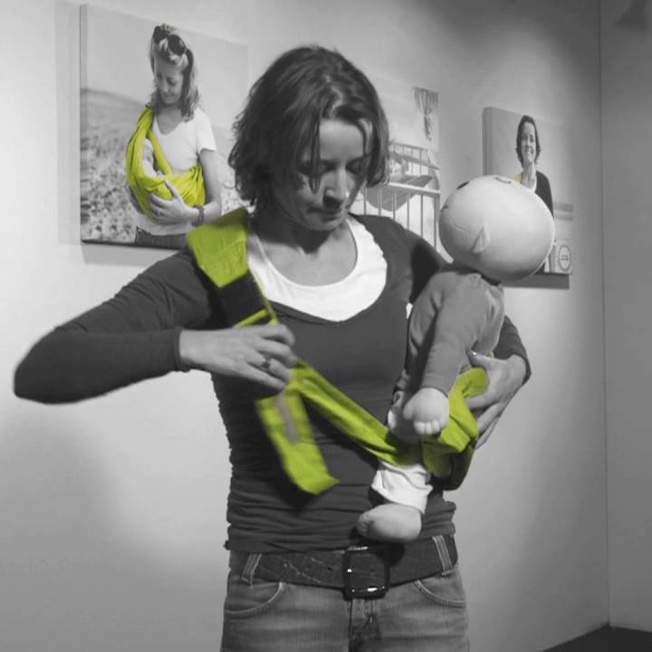 fd6d51a6355 Insruction Minimonkey Baby Sling Hipster.mov - YouTube