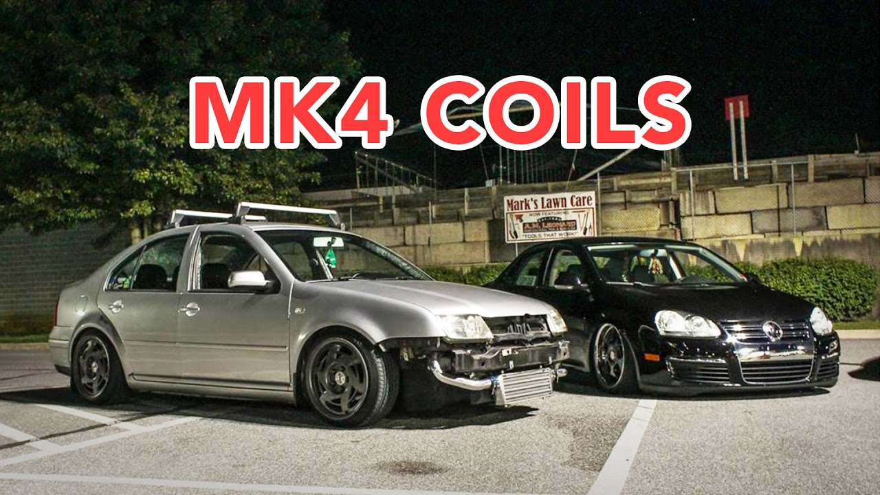 Installing Coilovers On A Mk4 Jetta Youtube
