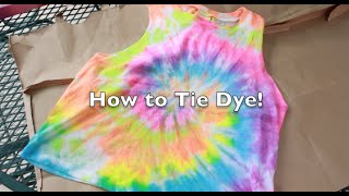 How to Tie Dye! Thumbnail