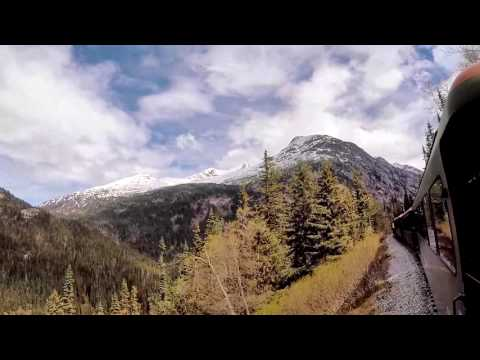 White pass and Yukon route - Amazing train ride up the Klond
