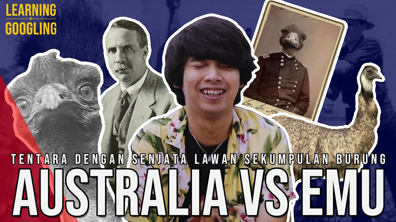 Australia Yang Kalah Perang Lawan Burung Emu! Senapan Mesin Gak Mempan? | Learning By Googling #84