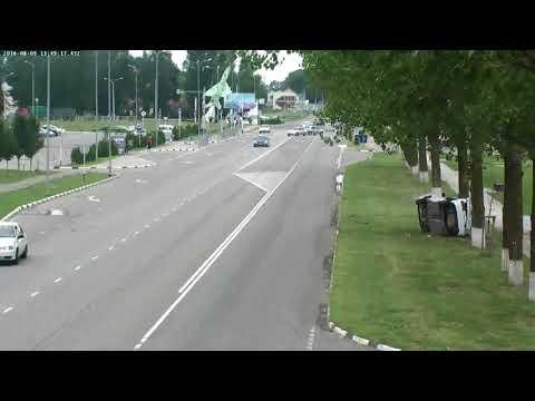 Кореновск. ДТП. 09.08.2018. Ул. Фрунзе