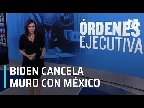 Biden cancela construcción de muro fronterizo con México - Despierta