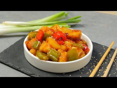 دجاج حامض حلو صيني