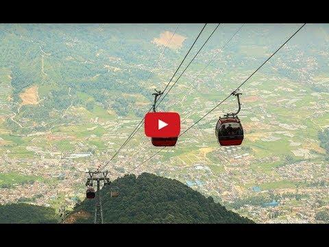 Chandragiri Cable Car, Kathmandu, Nepal | Mero Online TV|
