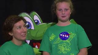 Space Station Astronauts Discuss Life in Space with Virginia Students