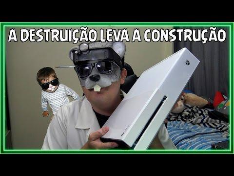 REVIVENDO UM XBOX ONE - A DESTRUIÇÃO LEVA CONSTRUÇÃO