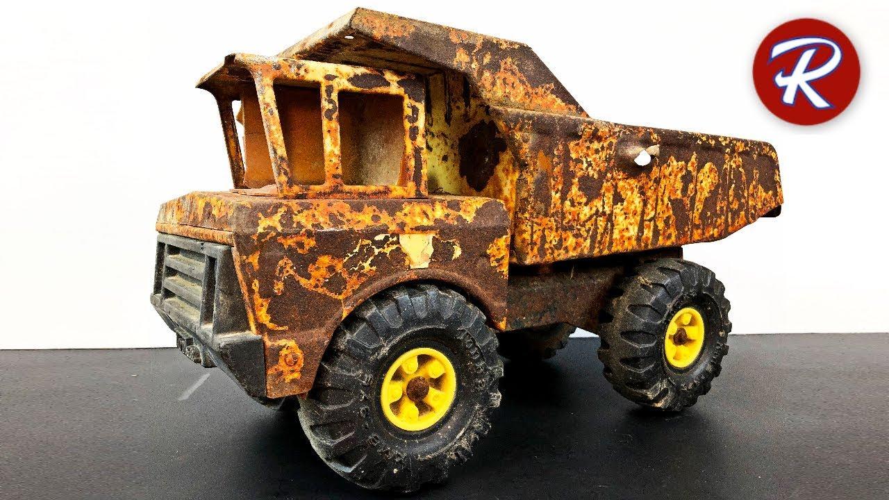 Tonka Toy Trucks >> 1980 Mighty Tonka Dump Truck Restoration