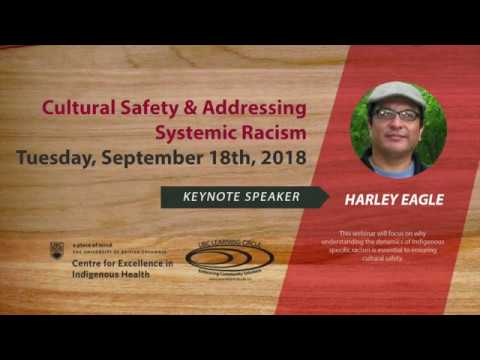 Cultural Safety and Addressing Systemic Racism with Harley Eagle