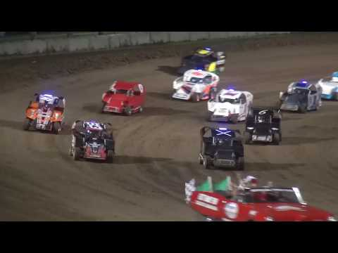 Xcel 600 Modified Season Championship feature Independence Motor Speedway 8/24/19
