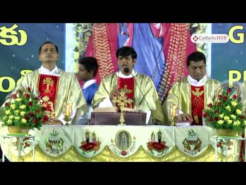 """""""ANNUAL FEAST"""" Naveena Day 3@ Shrine of Our Lady of Health, Khairtabad,Tg,INDIA.01-09-16"""