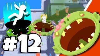 EPIC *TOXIC ZOMBIE* Crazy Skin - Hole.io Gameplay Tips & Tricks Walkthrough Part 12