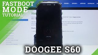 How to Enter FastBoot Mode on DOOGEE S60 – Exit FastBoot
