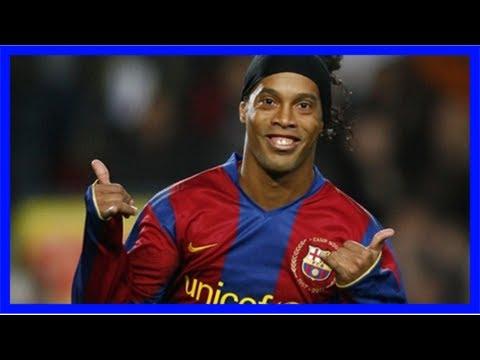 Former brazil and barcelona star ronaldinho to officially retire in 2018 | goal.com