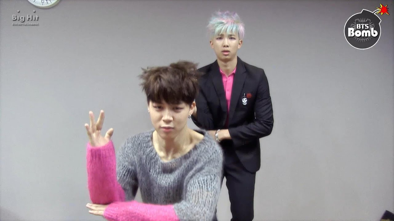 BANGTAN BOMB] Rap Monster's performance class - YouTube