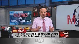 Jim Cramer breaks down the GameStop short squeeze