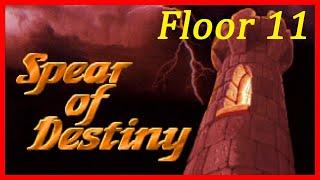 Wolfenstein 3D: Spear of Destiny (1992) Entrance to the Castle - 100% Walkthrough