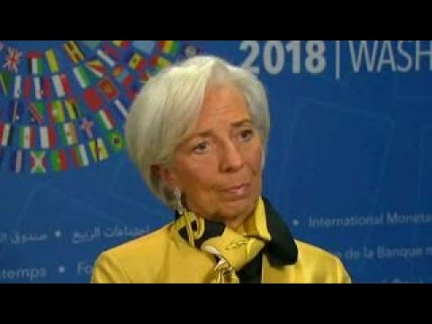 IMF's LaGarde: Disappointed with evolution of trade around the world