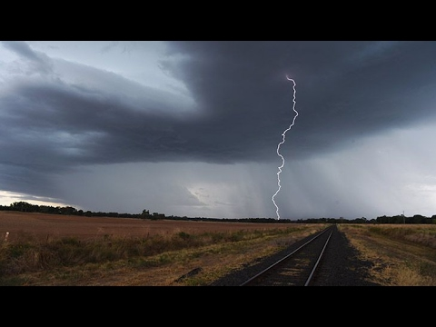 NSW Hit With Violent Thunderstorm