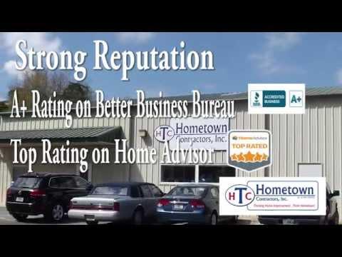 Hometown Contractors, Inc. - Glass Enclosures - Bath Remodels - Pensacola, Florida