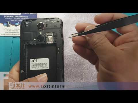 LG K10 2017 M250N sostituzione display - Display Replacement - Disassembly