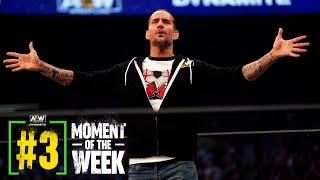 Who Does CM Punk have his Sites Set On Now?   AEW Dynamite, 9/8/ 21