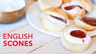English Scones [BA Recipes]