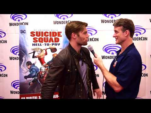 Liam McIntyre   Suicide Squad: Hell to Pay at WonderCon