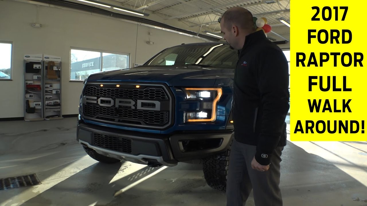 2017 ford raptor exterior interior walkaround with ex doovi. Black Bedroom Furniture Sets. Home Design Ideas