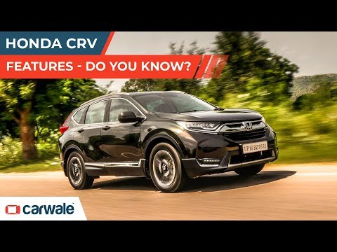 Honda CRV | Features | Do You Know? | 1 minute Review | CarWale