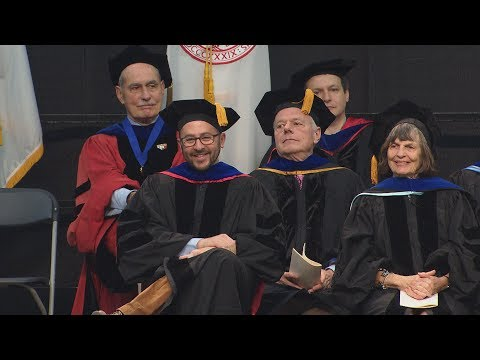 Pardee School of Global Studies Convocation 2017 Gitner Family Prize to Prof. Jeremy Menchik