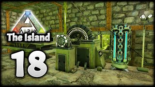 FIRST EVER ELECTRICITY IN ARK! REX COUPLE! | ARK Survival Evolved (The Island)