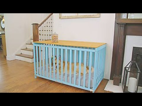 How to Turn a Crib Into a Dog Crate - DIY Network