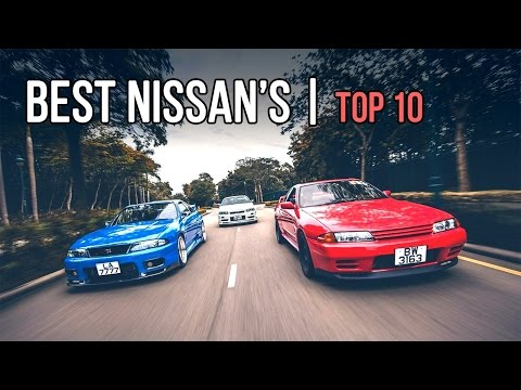 Top 10 | Greatest NISSAN Sports Cars of ALL TIME!