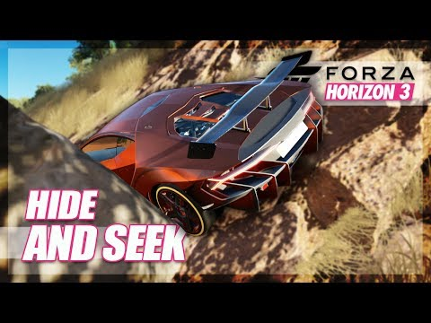 Forza Horizon 3 - Hide and Seek (Mini Games & Random Fun) thumbnail