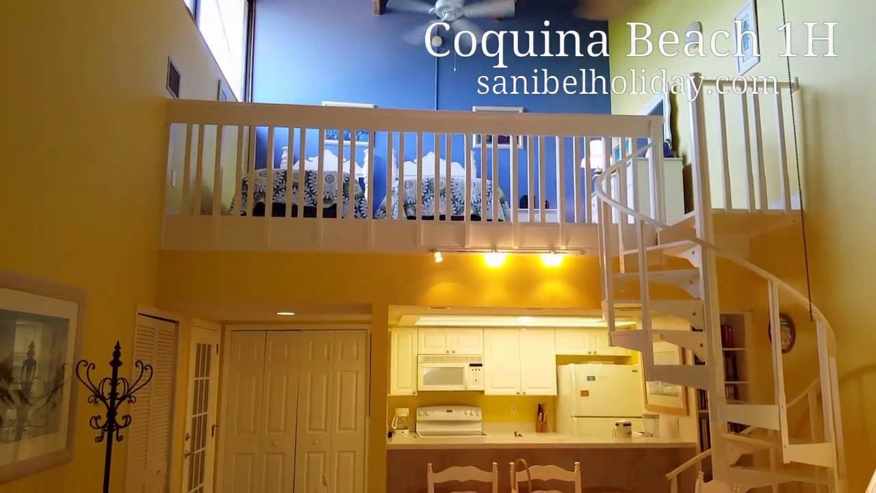 Coquina Beach 1h Sanibel Island Condo 2 Bed Bath Plus Loft Located On Middle Gulf Drive
