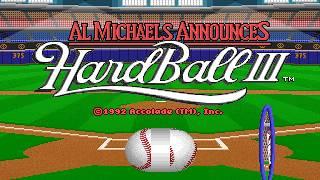 Hardball 3 (PC/DOS) 1992, Accolade, Mindspan